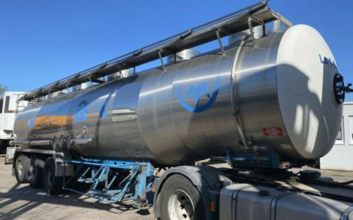 Magyar Chemietankauflieger 32.500L 1 Kammer
