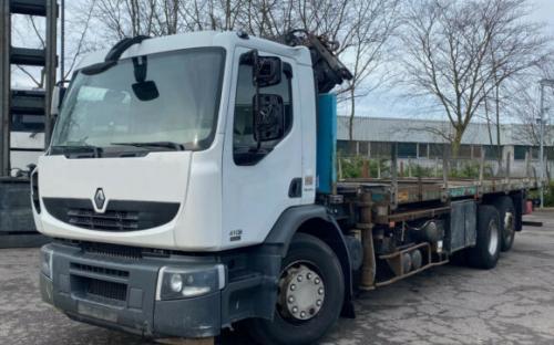 Renault Premium 410 DXI Terex Kran