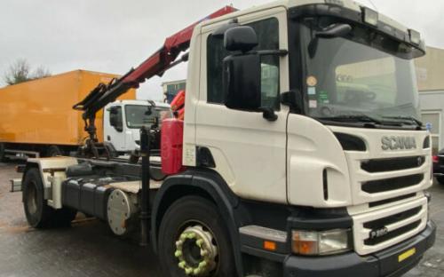 Scania P280 Kran mit Retarder