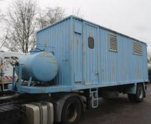 Alsthom Dieselair 120 150KVA Stromaggregat Auflieger