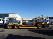 Goldhofer Tieflader TLÜA 25/42 für Kabeltransport